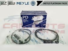 FOR VW TOUAREG FRONT PLATINUM GERMANY BRAKE PADS WEAR WIRE SENSORS BREMBO