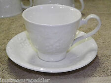 Davenport Burleigh Footed Cup & Saucer Set  - Grape and Strawberry Leaf
