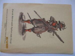 Feldpost WW 2, Durch Härte und Opfer zum Sieg, Feldpostkarte (72537)