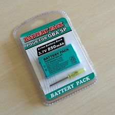 High Quality 850mAh Rechargeable Battery for Gameboy Advance SP, GBA SP + Tool