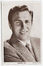 HOWARD KEEL - Film Star -  c1950s era Picturegoer Cinema postcard #W857