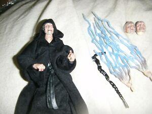 figurine loose EMPEREUR PALPATINE /DARK SIDIOUS black série STAR WARS