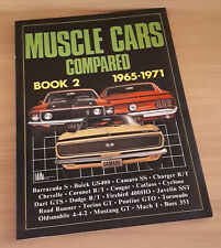 Vintage Muscle Cars Compared Book 2 1965-71 1983 Edition Dodge/Chevy/Mopar USDM