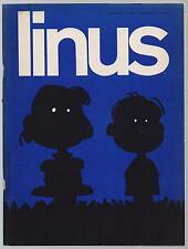 LINUS 77 (8) anno VII 1971 peanuts b.c. paulette popeye povere bestie feiffer