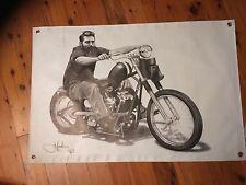 AUSSIE  legend 3x2 foot ned  kelly vinyl print bushranger biker Aussie outlaw