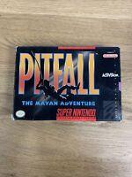 BOX ONLY Pitfall: The Mayan Adventure (SNES 1994) - No Game/Manual