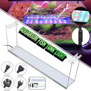 110-240V RGB60 Fits 60-80cm Aquarium Fish Tank Plant Light Bar W/ Dimmer
