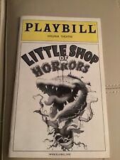 LITTLE SHOP OF HORRORS Playbill 2004 Joey Fatone