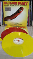 2 LP SAUSAGE PARTY - NUMBERED 750 - RED & YELLOW - MOV - MUSIC ON VINYL