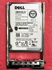 "NEW Dell 8WP8W HUC106060CSS600 600GB 6Gbps 2.5"" SAS 10K SFF HDD Hitachi w/ Tray"