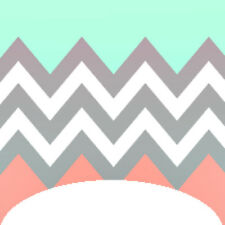 20 water slide nail art coral mint gray french tip decals Trending