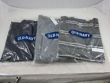 Old Navy XXL TTG Petite Black Gray Striped 3 Shirt Lot 2 Tank Top 1 Long Sleeve