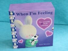 WHEN I'M FEELING TRACE MORONEY HARDCOVER NEW 8 BOOKS HAPPY LOVED HAPPY KIND SAD