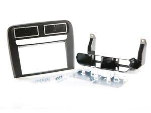 Fiat Grande Punto linea radio diafragma coche montaje marco soporte negro diafragma