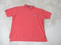 VINTAGE Ralph Lauren Polo Sport Shirt Adult Extra Large Red Blue Spell Out 90s