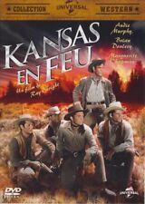 Kansas en feu (Audie Murphy, Brian Donlevy, Tony Curtis) DVD NEUF SOUS BLISTER