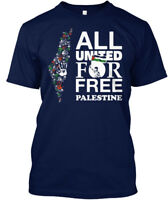 Free Palestine T - All United For Hanes Tagless Tee T-Shirt