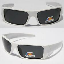 4c6d71026b573 Men Dark Lens Gangster White OG Sunglasses Polarized Biker Sport Shades  Motor-cy