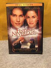 Finding Neverland (DVD, 2005, Full Frame)