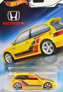 Honda Civic Ef Year 1990 scale 1:64 Car Model From Howheels