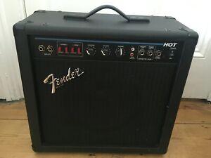 Vintage 1990s Fender H.O.T PR141 Solid State Guitar Amp Amplifier USA + Manual