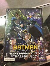 BATMAN GOTHAM CITY strategy game HEROCLIX wizkids neca NEW