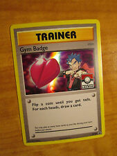NM LEAGUE Pokemon KOGA'S GYM BADGE Card BLACK STAR Promo Set XY207 Holo Trainer