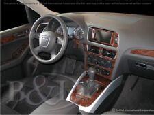 Dash Trim Kit for AUDI Q5 14 15 16 17 carbon fiber wood aluminum