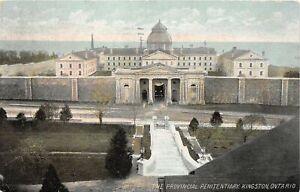 H46/ Kingston Ontario Canada Postcard 1907 Provincial Penitentiary Prison
