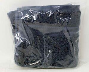 Charisma Luxury 100% Hygro-Cotton Navy Hand & Wash Towel Set 2 Pc