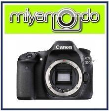 (Canon M'sia) Canon EOS 80D Body Digital SLR Camera