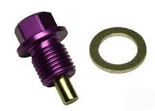 Magnetic Oil Sump Drain Plug - Toyota Celica, Echo -  M12x1.25 PURPLE