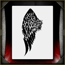 Angel Wing 3 -  Airbrush Stencil Template Airsick