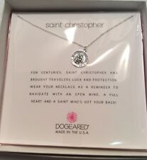 "DOGEARED REMINDERS ""SAINT CHRISTOPHER"" 16""+ EXTENDER"