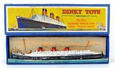 Vintage Boxed Dinky Toys No. 52 Pre-War Star Liner Queen Mary No.52a