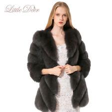 Autres manteaux bleus en fourrure pour femme