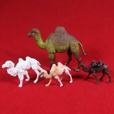 Vintage Camel Toy Figure Lot Plastic Toys Hong Kong