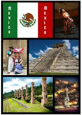 MEXICO - SOUVENIR NOVELTY SIGHTS FRIDGE MAGNET - BRAND NEW -  LITTLE GIFTS