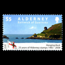 Alderney 2010 - 25th Anniversary of the First Alderney Stamp - Sc 376 MNH