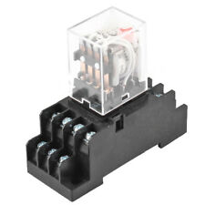 DC 24V Coil Volt 4PDT 14 Pin Terminal Electromagnetic Relay HH54P T9B5