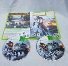 Battlefield 4 Xbox 360 2 Disc No Manual