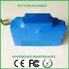 RICAMBIO BATTERIA A LITIO HOVERBOARD 10 CELL ELETTRICO MONOPATTINO SMART BALANCE