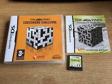THE TIMES CROSSWORD CHALLENGE - NINTENDO DS