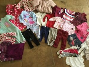 Large bundle girls 12-18 months clothes, over 25 iyems