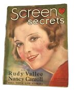 SCREEN SECRETS MAGAZINE January, 1930 - DOROTHY MACKAILL