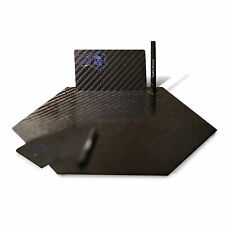 XL Pure Carbon Fiber Cutting Plate With Card And Straw Kit Snuff Tobacco Luxury
