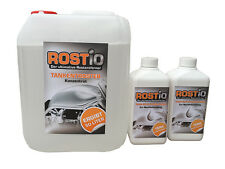 5L Rostio Tankentroster + 2 x 500ml Tank-Schutzemulsion Tankversiegelung Set