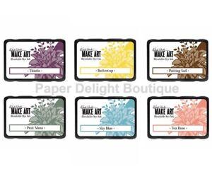 Ranger Wendy Vecchi Make Art Blendable Dye Ink Pad - All 6 New for February 2019