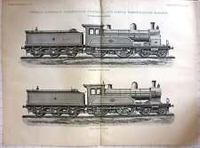 1893 Express Passenger Locomotive Compound et simple NER, 1619