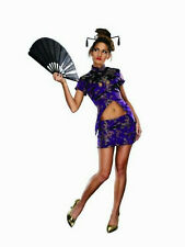 Women's Fortune Cookie Chinese Sexy Adult Costume Size XS/S